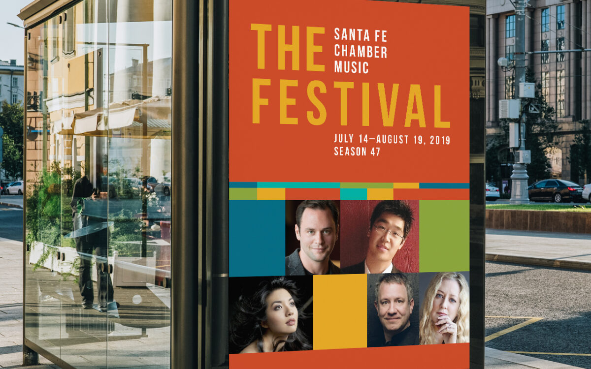 Santa Fe Chamber Music - Bus Shelter